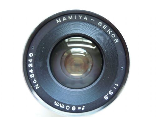 MAMIYA SEKOR RB 67 90MM F3.8 LENS